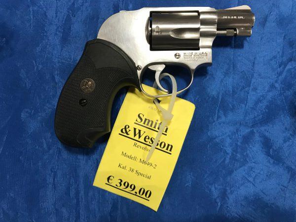 Smith & Wesson Revolver Mod. 649-2 Kal. .38 Spec