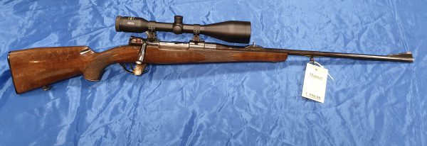 Mauser 98 Repetierer Kal. 6,5×57 mit Meopta Meostar R1 7x56RD