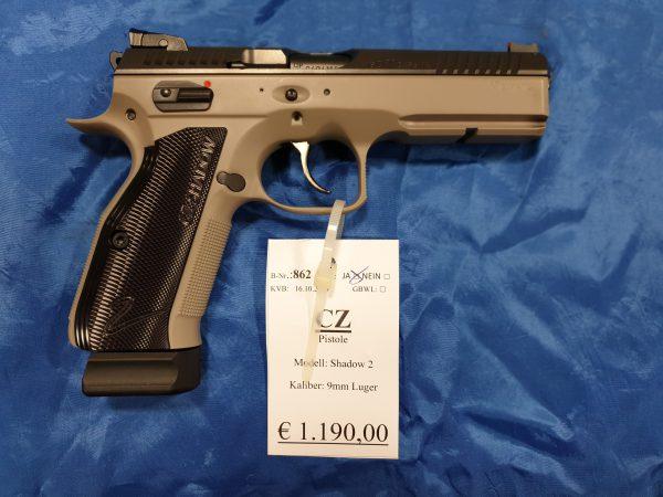 CZ Shadow 2 Pistole 9mm Luger Kat B