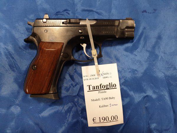 Tangfoglio Pistole TA 90 Baby 9mm Luger Kat B