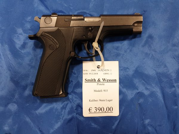 Smith and Wesson Mod 915 9mm Luger Kat B