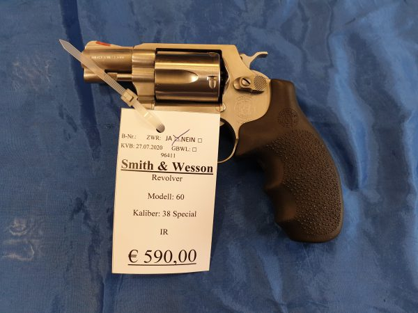 Smith and Wesson Mod. 60 .38 Special