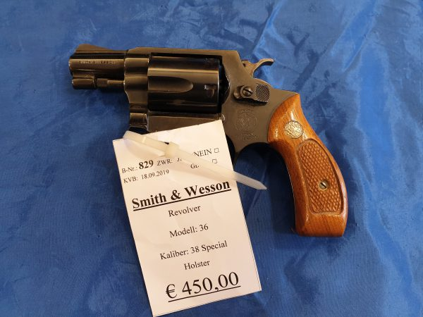 Smith and Wesson Mod 36 .38 Special
