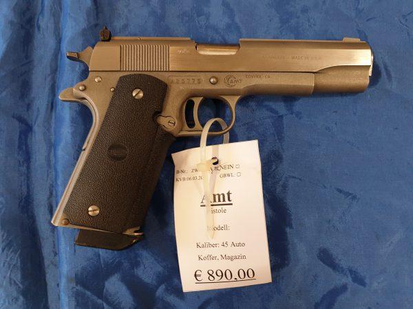 AMT Pistole .45 Auto Kat B